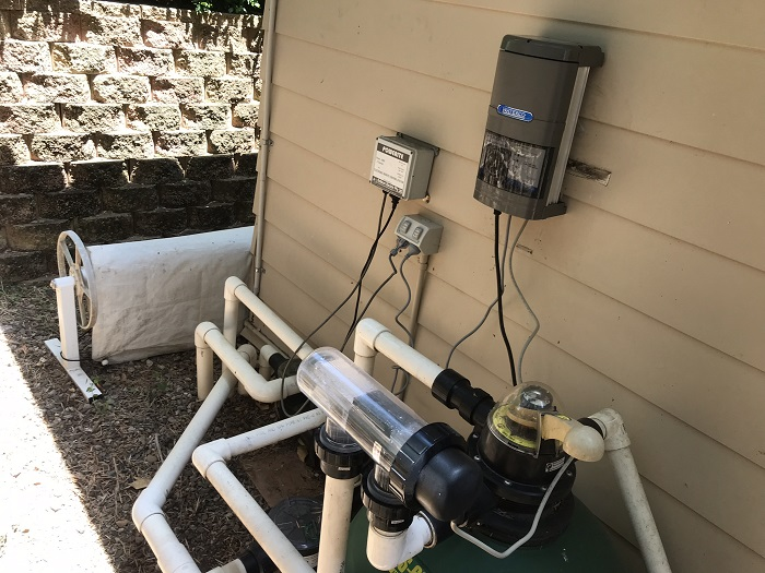 More than just Pool Lighting - Our Pool Products and services now include supplying and installing Chlorinators & Pumps