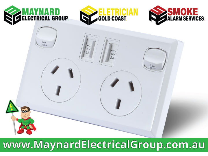 Adding New Power Points | Maynard Electrical Group | Electrician Gold Coast & Brisbane | Call us today for a quote for all Electrical Works | 0409 199 468