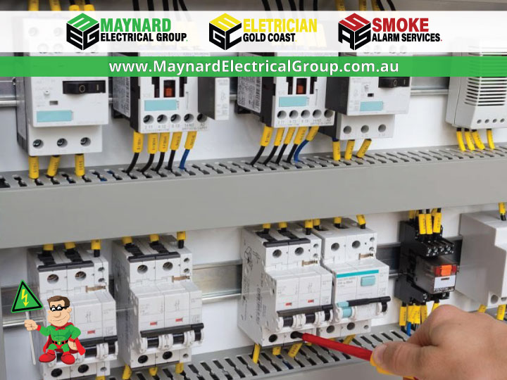 Switchboard Safety Checks | Maynard Electrical Group | 0404 199 468 | Book a 10 Point Electrical Safety Check with your Maynard Electrical Group Tech NOW